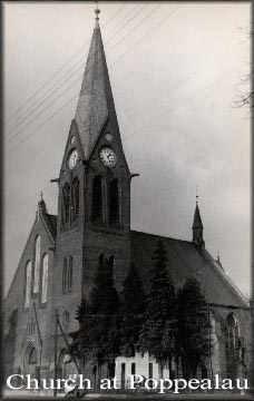 To the left and below is the beautiful St Peter and Paul Catholic Church in Independence, WI, built by our Polish Prussian ancestors